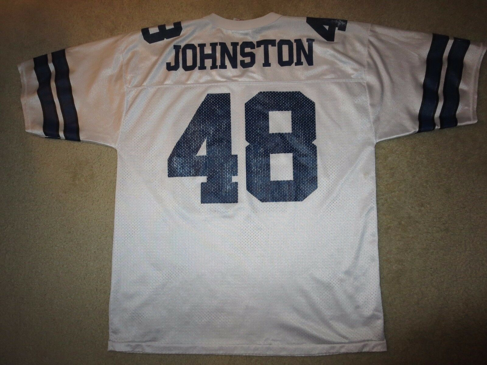 Daryl Elch Johnston    48 Dallas Cowboys NFL Trikot L L 46-48 dcc5b1