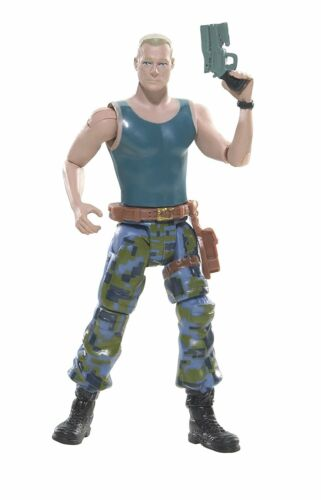 """Avatar Colonel Miles Quaritch 3.75/"""" Action Figure w//Webcam i-TAG ~ NEW /& SEALED"""