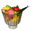 "thumbnail 1 - Footed Pedestal ""Including"" Fruit Vegetable Bowl Clear Glass Large & Heavy 5 lbs"