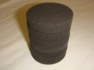 6-Pack-of-Black-Buffing-Polishing-Pads-for-Disc-Repair-Machines-fits-RTI-Eco