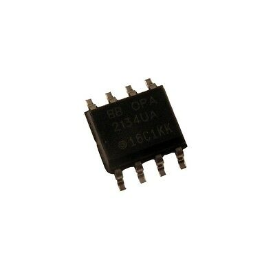 OPA4277UA Burr Brown Op-Amplifier 1MHz 0,8V//µs Quad Precision OpAmp SO-14 855986