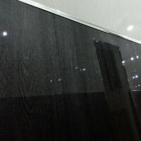 12 Black Wood Gloss Wall Panels - Interior Shower Wall Cladding Upvc Plastic