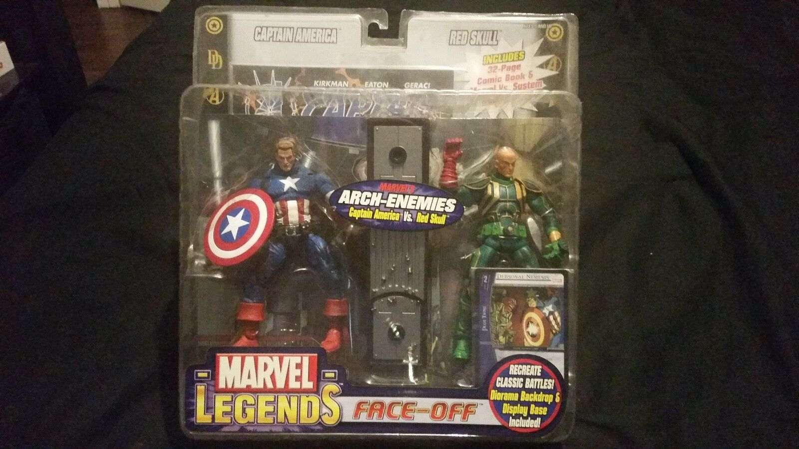 Marvel - legenden face-off captain america vs. rot skull - variante arch-enemies