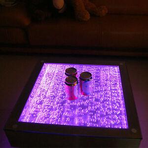 bubble coffee table led colour change light up sensory bar club furniture ebay. Black Bedroom Furniture Sets. Home Design Ideas