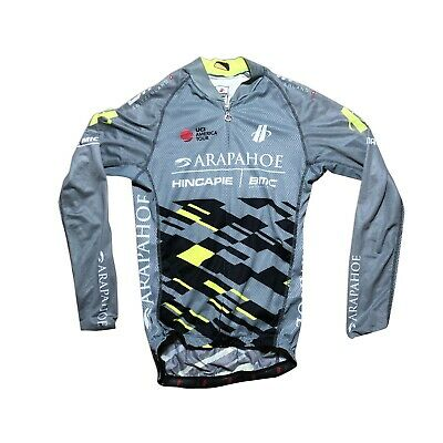 Men/'s 2019 Hincapie Racing Team Max Cycling Bib Shorts Black Size XS EUC