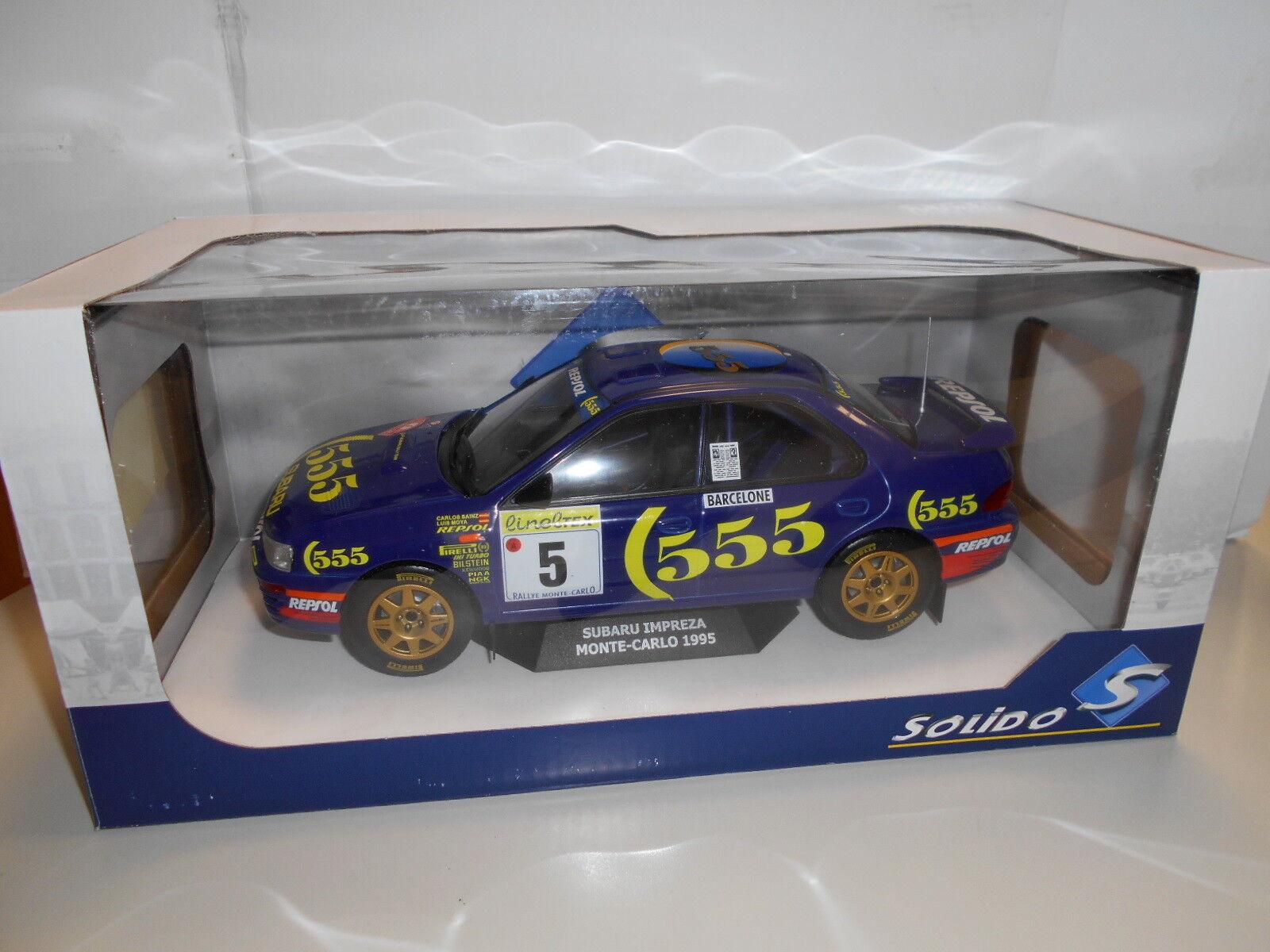 SOLS1800802 by SOLIDO' SOLIDO SUBARU IMPREZA MONTECARLO 1995 1 18