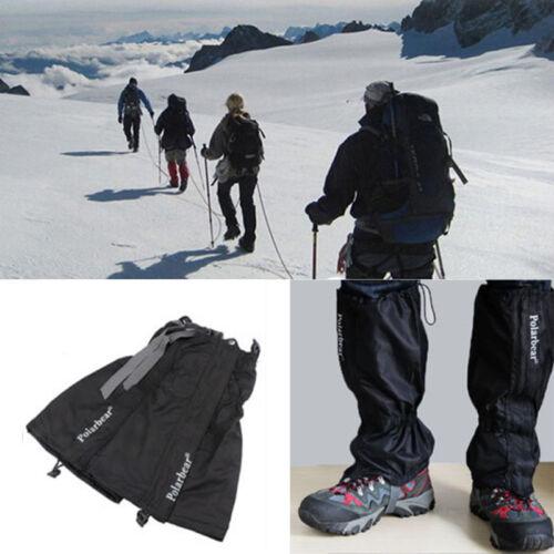 2x Waterproof Walking Gators Boot Hiking Climbing Snow Leggings Trekking Gaiter