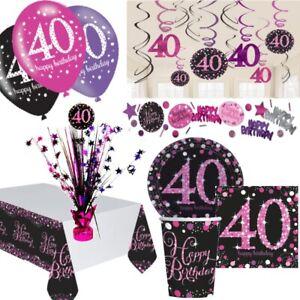 Deko 40 geburtstag frau Lustiges Geschenk