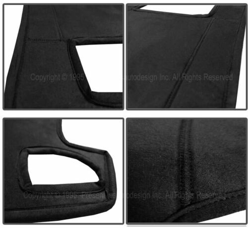 fits 2008-2010 DODGE CHARGER SUEDE DASH COVER MAT DASHBOARD PAD BLACK