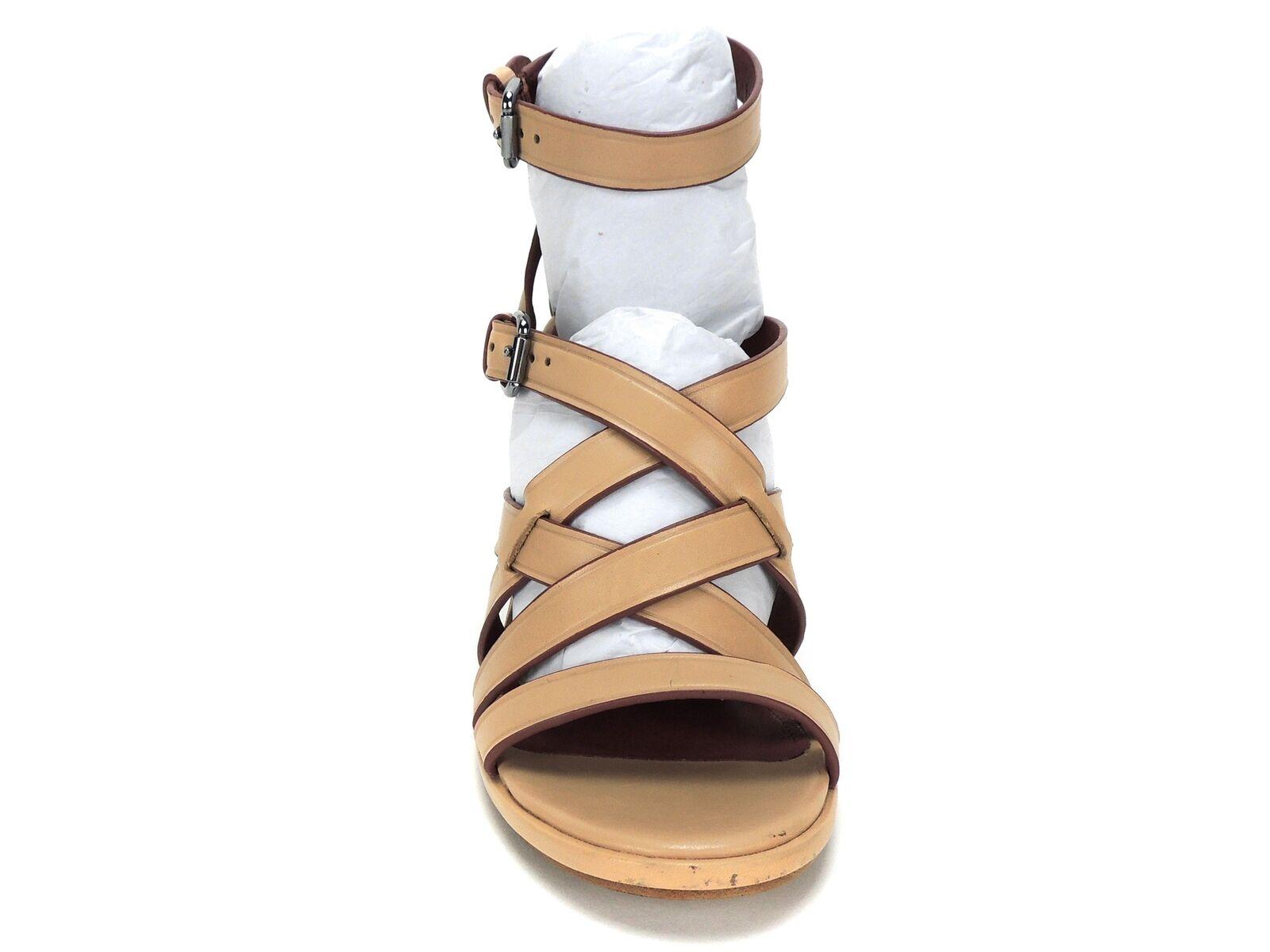 Entrenador De Mujer Mujer Mujer Sandalias de cuña con tiras amanecer Suave Veg Cuero Madera de Haya tamaño 9 M bcbcd2