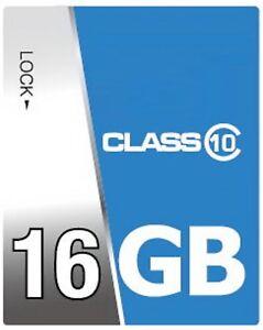 SD Karte 16 GB Class 10 16GB SDHC Speicherkarte für Sony Cybershot DSC W320