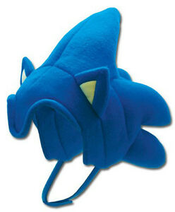 1x Authentic Sonic the Hedgehog: Sonic Hair Fleece Hat Great Eastern (GE-2380)