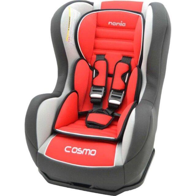 Nania Cosmo SP 0 4 YR Rear Forward Facing Recliner Car Seat Agora Carmin