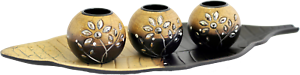 NEW Decorative Candle Holder Centrepiece with BONUS 50 Tealight Candles