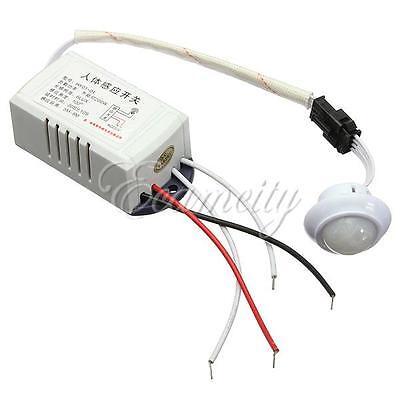 220V IR Infrared Module Sensing Switch Body Sensor Intelligent Light Lamp Motion