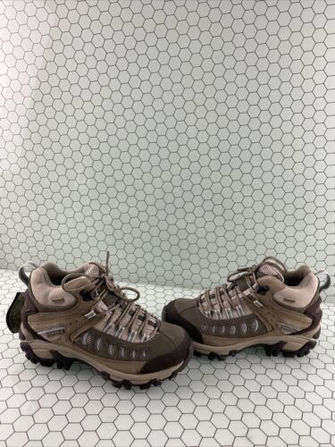 Merrell KINETIC MID Taupe Lace Up Waterproof Hikin