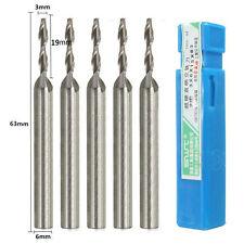 1x 3mm Dia 2 Flute Long Extra Extended HSS &Aluminium End Mill Cutter CNC Bit -1