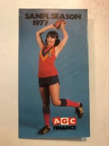 RARE-1977-SANFL-VFL-AFL-FIXTURE-AGC-FINANCE-MINT-CONDITION