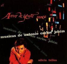 SYLVIA TELLES - AMOR DE GENTE MOCA: MUSICAS DE ANTONIO CARLOS JOBIM NEW CD