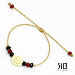 Women S Flower Bracelet Handmade
