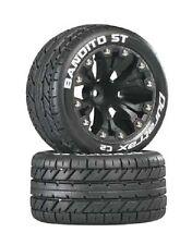 "DURATRAX Bandito ST 2.8"" Truck Mntd 1/2"" Offset C2 Blk (2)  DTXC3544"