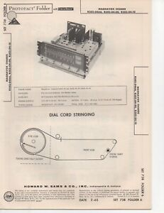 Details about 1965 MAGNAVOX R202-04AA RADIO SERVICE MANUAL PHOTOFACT  SCHEMATIC R202-04-00 MORE