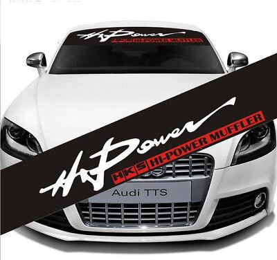 Power Car Windshield Banner Vinyl Decal Front Rear Window Sticker for DCEPEK
