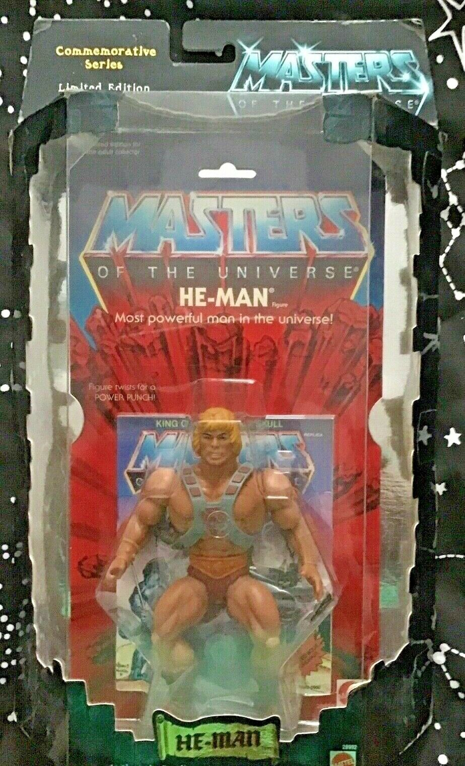 He-man Amos Del Universo Conmemorativa serie 2000 Edición Limitada 15,000