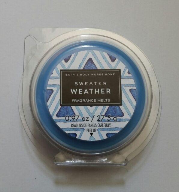 Bath Body Works Sweater Weather Wax Melts 4x Ship Us Ebay