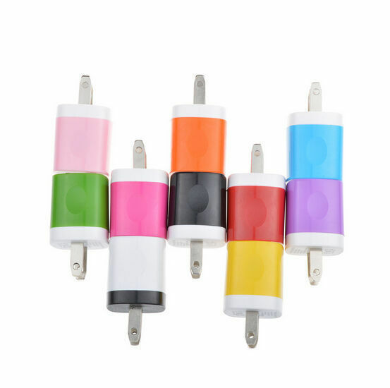 1A USB Power Adapter Wall Charger US Plug FOR Phone charger direct charge