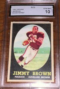 JIM-BROWN-1958-TOPPS-REPRINT-RC-CARD-52-GEM-MINT-10-GRADED