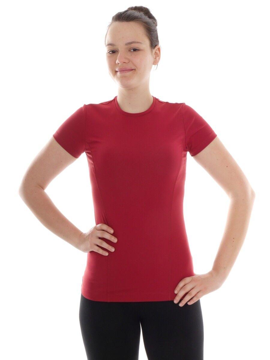 Lolë Funktionsshirt T-Shirt Oberteil red Faye Mesh atmungsaktiv