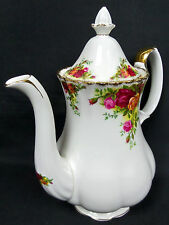 Old Country Roses Cafetera Grande, 1st Qlty, gc, de 1962-73, Inglaterra, Royal Albert