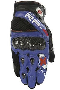 Oxford-RP-4-Verano-Corto-Rejilla-Valvula-Transpirable-Moto-Funda-Azul-T