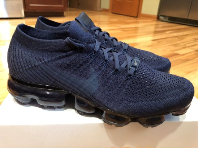 8147554615 Nike Women's Air Vapormax Flyknit College Navy Midnight Navy AT9790 414  Size 11