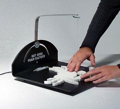 Hot Wire Foam Factory Scroll Table Styrofoam Cutter - REFURBISHED