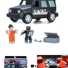 ROBLOX Jailbreak SWAT Unit New Limited Series 4 Kids Toy Car Figure Playset Gift