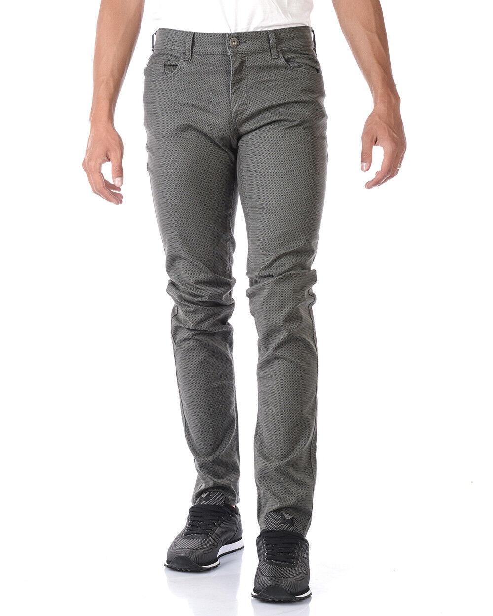 Trussardi Jeans Jeans Cotton Man Grey 52J000071T000063 E280