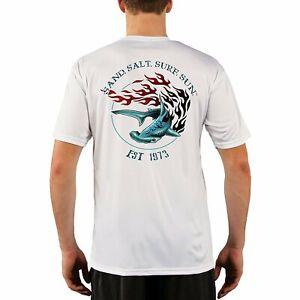 Herren Baumwolle Kurzarm T-Shirt Sonnenschutz Shirts Workout Top