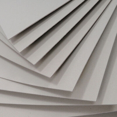 Greyboard Mount Board 1000 microns A4 Backing Model Board 1mm Thick Card Sheets
