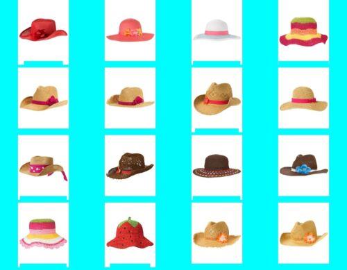 NWT Gymboree Girls STRAW Hat Choice NEW Sun Hat Sunhat NEW