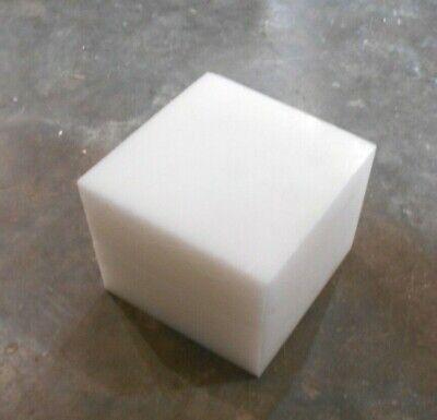 "EC11-5 White Delrin Rod 2-3//4/"" x 12/"""