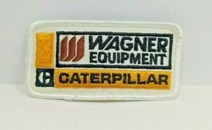 Vintage Wagner Equipment Caterpillar CAT K Brand 70s 80s USA Seeds PATCH ONLY
