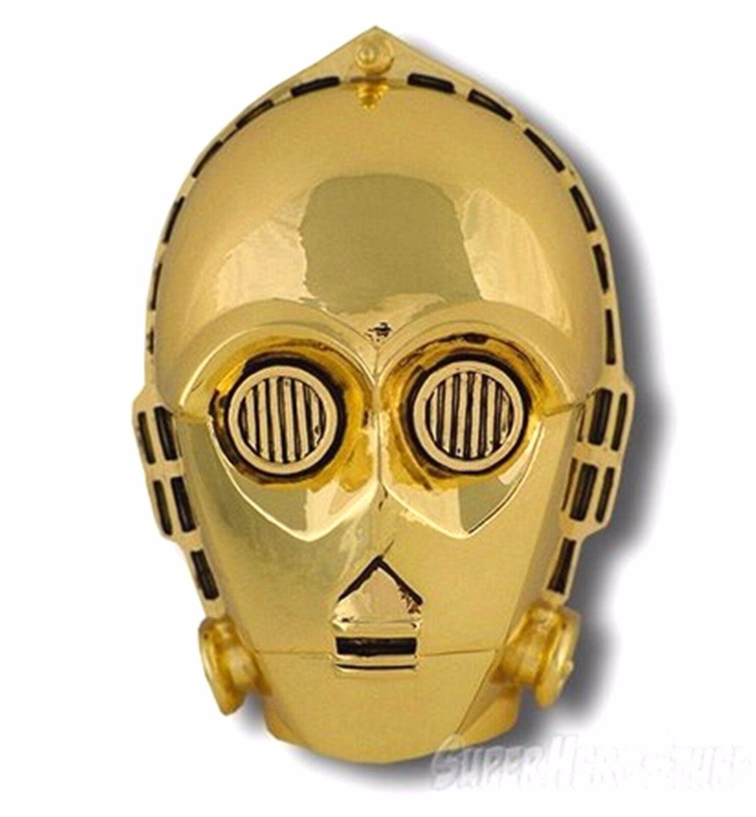 Original Offiziell Lizenziert Lucas Filme Star Wars C3-PO Belt Schnalle Ball Big