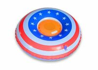 Aduro Wireless Floating Waterproof Bluetooth Speaker Swimming Pool Bathtub (American Flag)