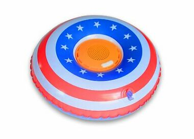 Aduro Wireless Floating Waterproof Bluetooth Speaker Swimming Pool Bathtub