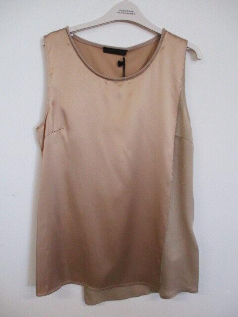 Fabiana Filippi Top Lagenlook   CA 98613 VR2   Gold Cashmere & Seide