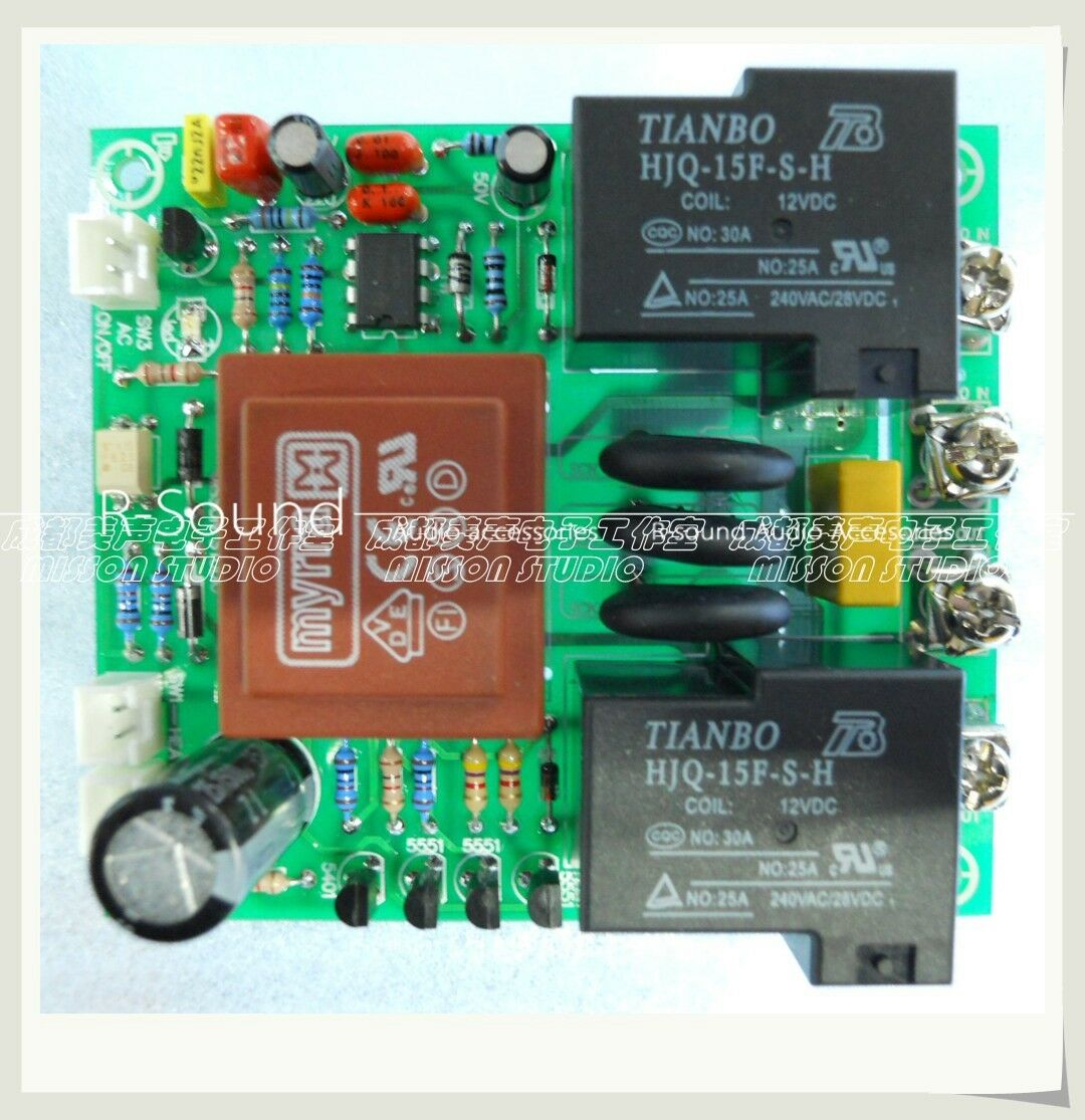 1PC Power supply delay connect temperature predection board for HIFI amp audio
