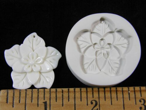 #MD1366 Poinsettia Flower Polymer Clay Mold