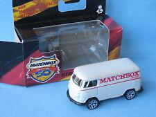 Matchbox VW Volkswagon Delivery Van White Body German Toy Model Car 70mm